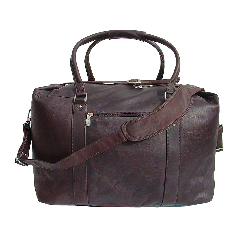 Piel European Carry-On - Chocolate - Luggage, Luggage Totes and Satchels