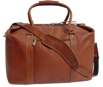 Piel European Carry-On - Saddle