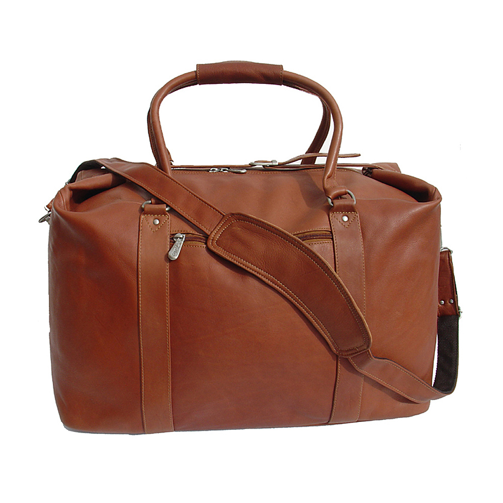 Piel European Carry-On - Saddle - Luggage, Luggage Totes and Satchels