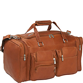20' Duffel Bag with Pockets Saddle