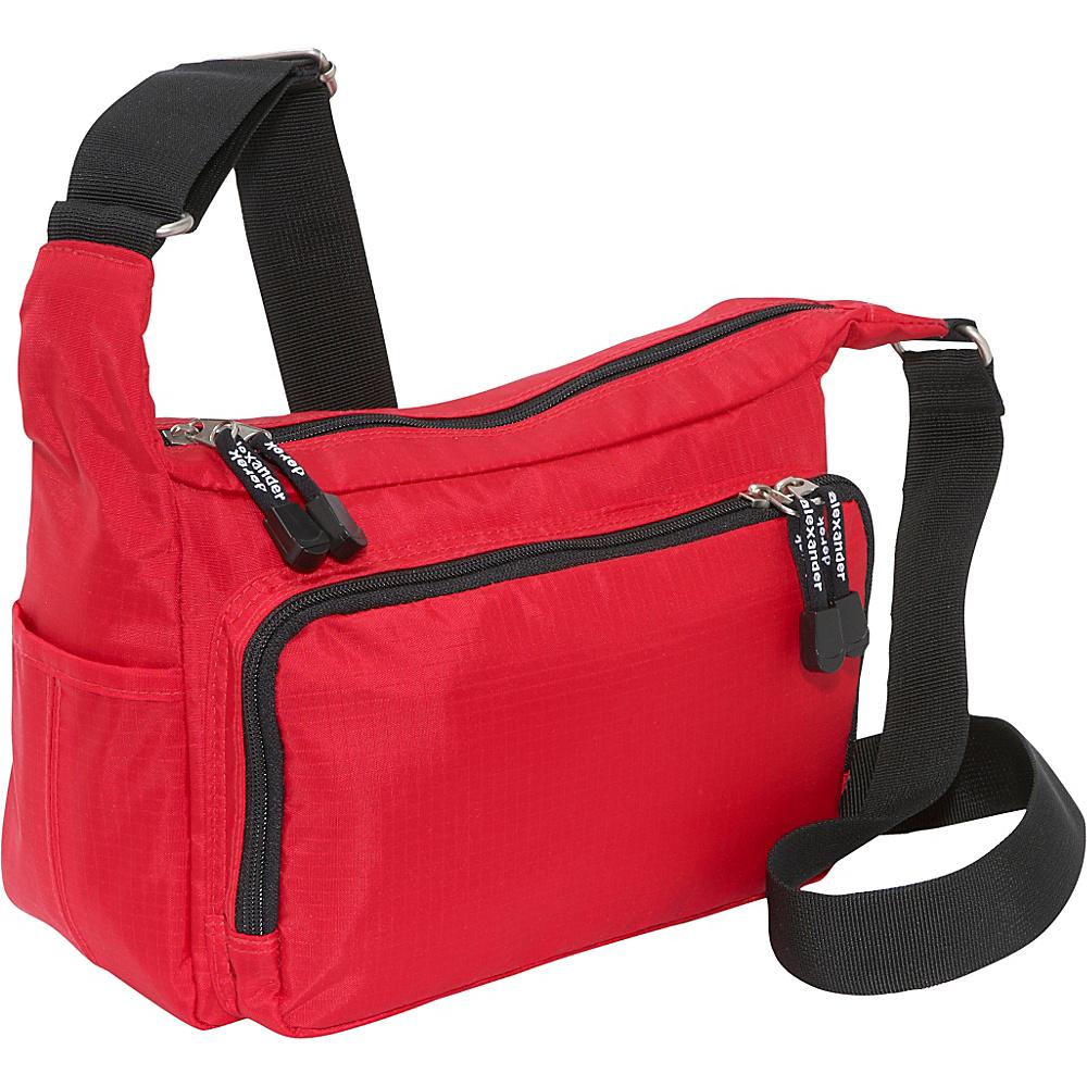 Derek Alexander Top Zip Front Zip Organizer - Cross Body - Handbags, Fabric Handbags