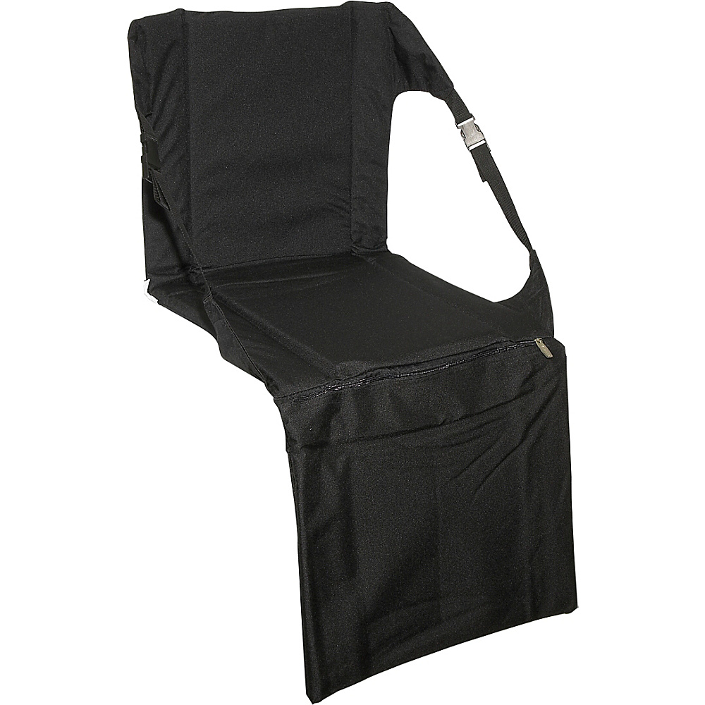 Picnic Time Stadium Seat Black