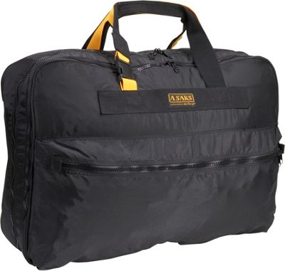 "Image of A. Saks EXPANDABLE 26"" Expandable Suitcase - Black"