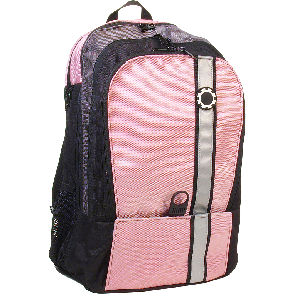 DadGear Backpack Retro Stripe Diaper Bag Pink