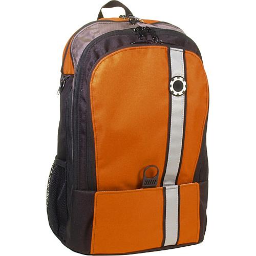 DadGear Backpack Retro Stripe Diaper Bag - Orange