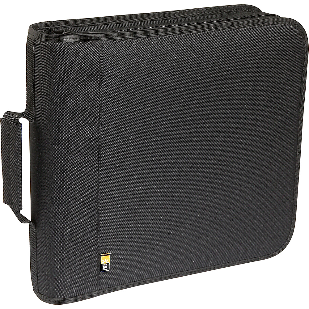 Case Logic 208 Capacity Nylon CD DVD Wallet Black