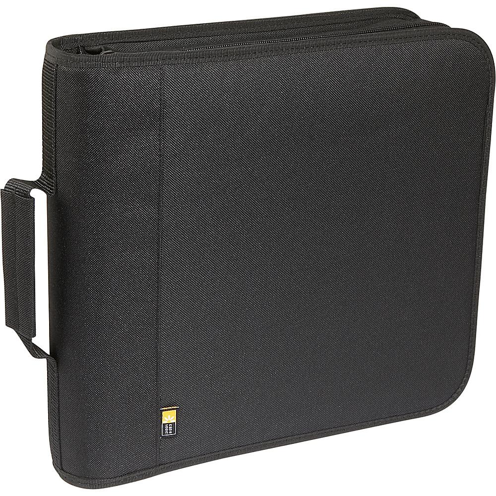 Case Logic 208 Capacity Nylon CD DVD Wallet Black