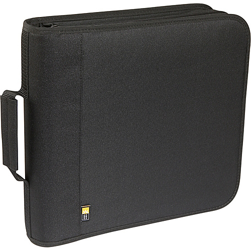 Case Logic 208 Capacity Nylon CD / DVD Wallet - Black