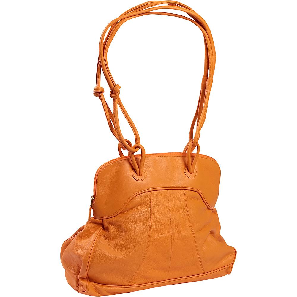 J. P. Ourse & Cie. Moorgate - Tangerine - Handbags, Leather Handbags