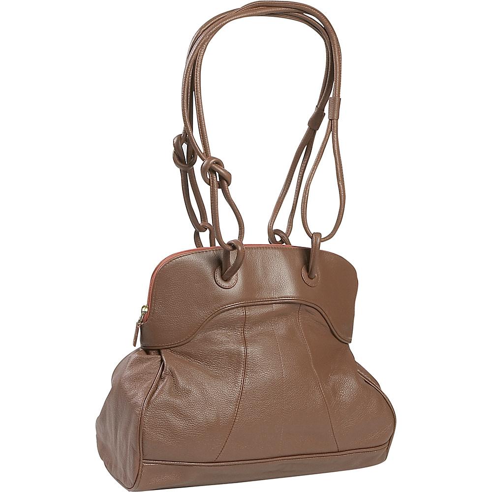J. P. Ourse & Cie. Moorgate - Cinnamon - Handbags, Leather Handbags