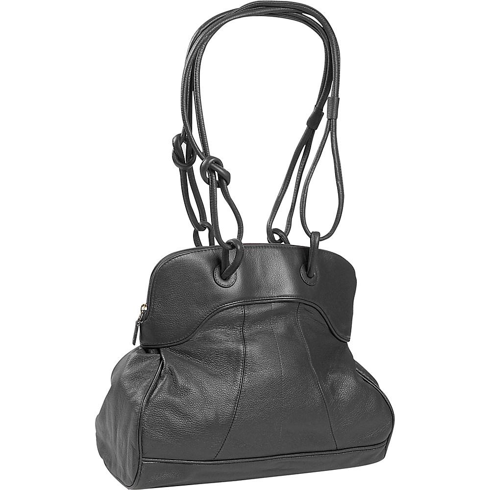 J. P. Ourse & Cie. Moorgate - Black - Handbags, Leather Handbags