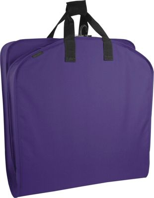 Wally Bags 40 inch Suit Bag Purple - Wally Bags Garment Bags