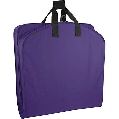 "Wally Bags 40"" Suit Bag Purple - Wally Bags Garment Bags"