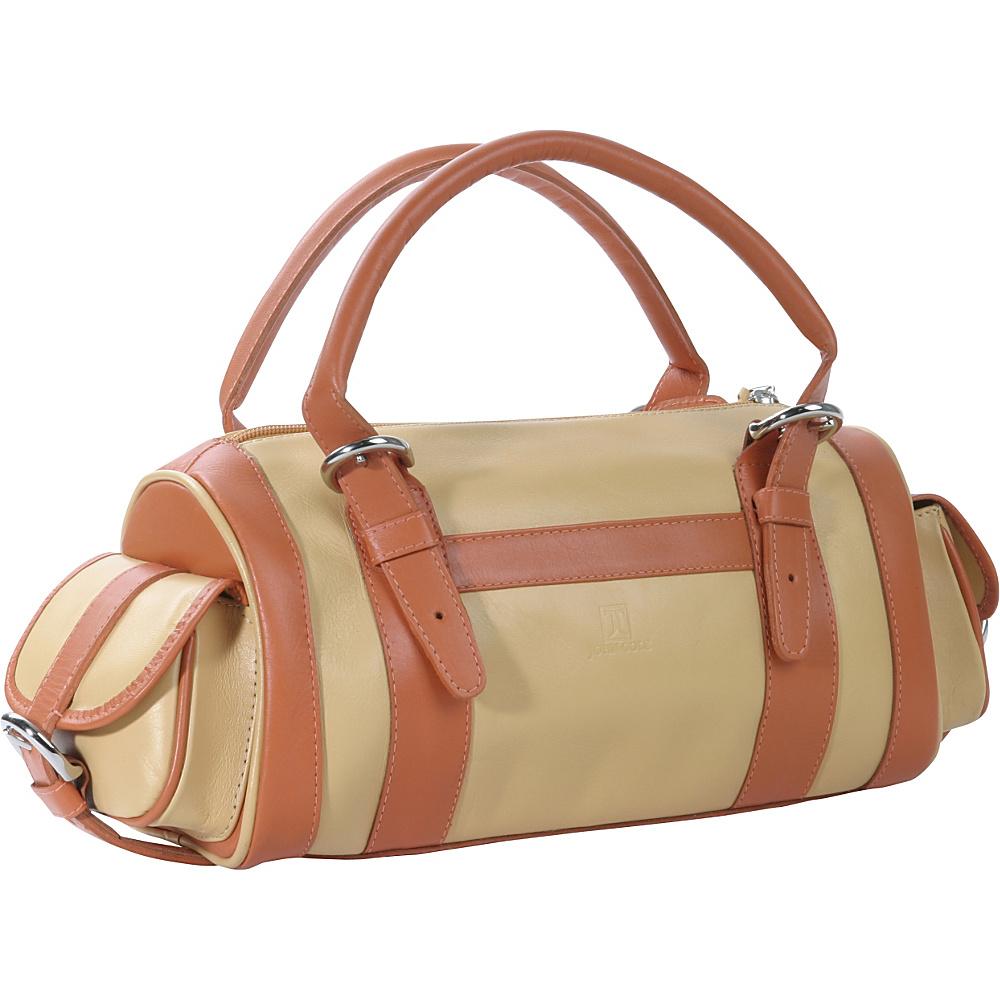 John Cole Zinnia - Chamomile/Mandarin - Handbags, Leather Handbags