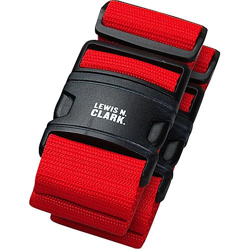 Lewis N. Clark 2 Deluxe Travel Belts - Red
