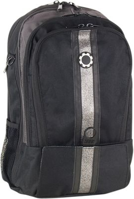 DadGear Backpack Center Stripe Diaper Bag - Sparkle