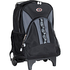 Grand Stand Rolling Backpack Charcoal