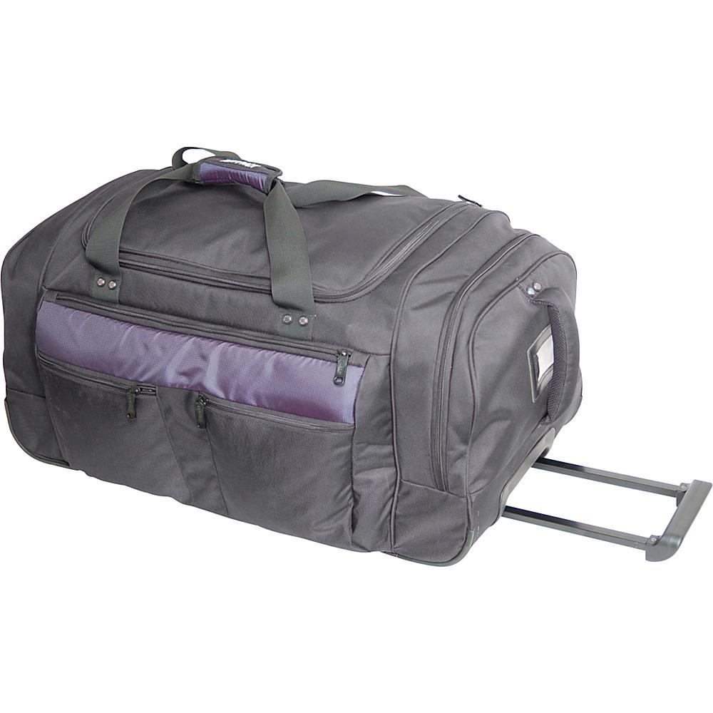Netpack Outback Wheeled Duffel 35 - Black - Luggage, Rolling Duffels
