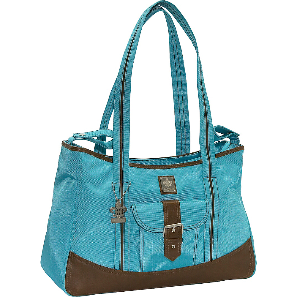 Kalencom Weekender Diaper Bag - Power Blue - Handbags, Diaper Bags & Accessories