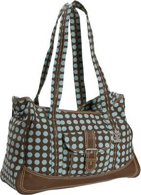 Kalencom - Week-Ender Bag (Women's) - Heavenly Dots Chocolate 1315101