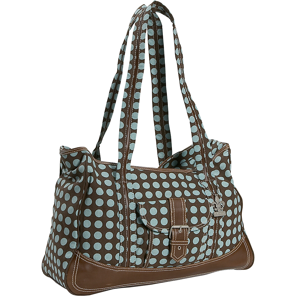 Kalencom Heavenly Dots Week-Ender Bag - Heavenly Dots - Handbags, Diaper Bags & Accessories
