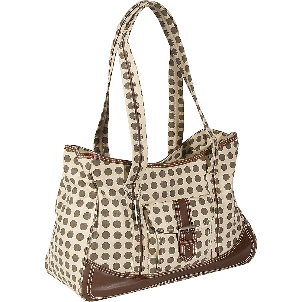 Kalencom Weekender Diaper Bag - Heavenly Dots Cafe au - Handbags, Diaper Bags & Accessories