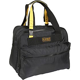 EXPANDABLE 16'' Deluxe Tote Bag Black