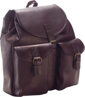 Clava Drawstring Backpack - Vachetta Cafe