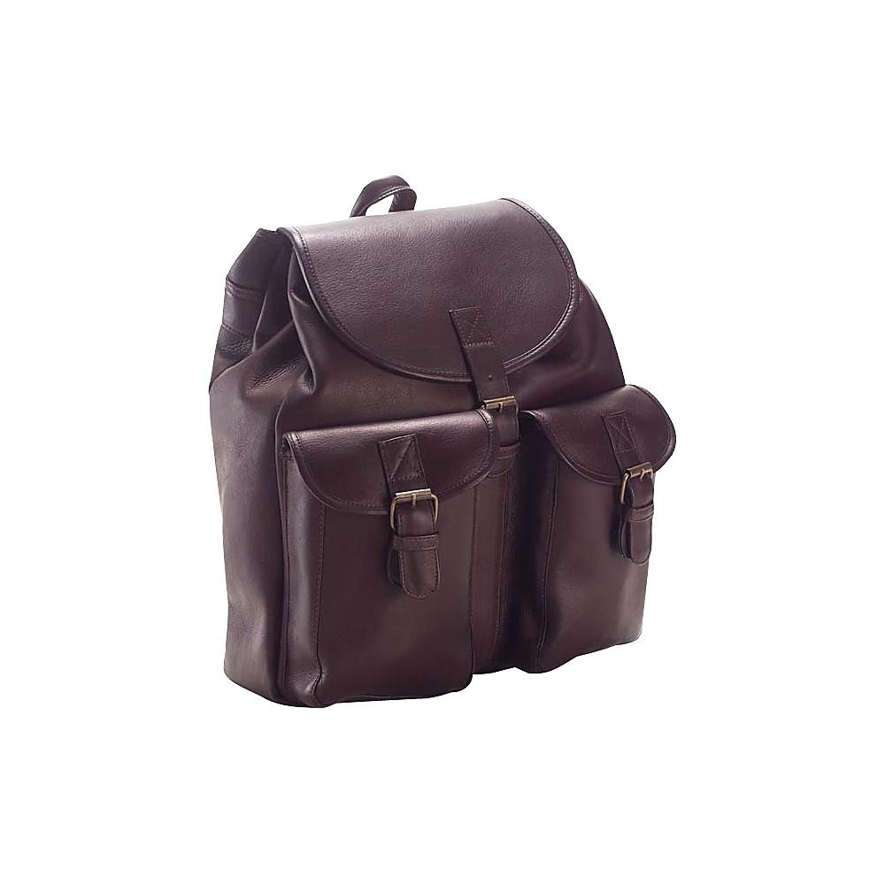 Clava Drawstring Backpack - Vachetta Cafe - Backpacks, Everyday Backpacks
