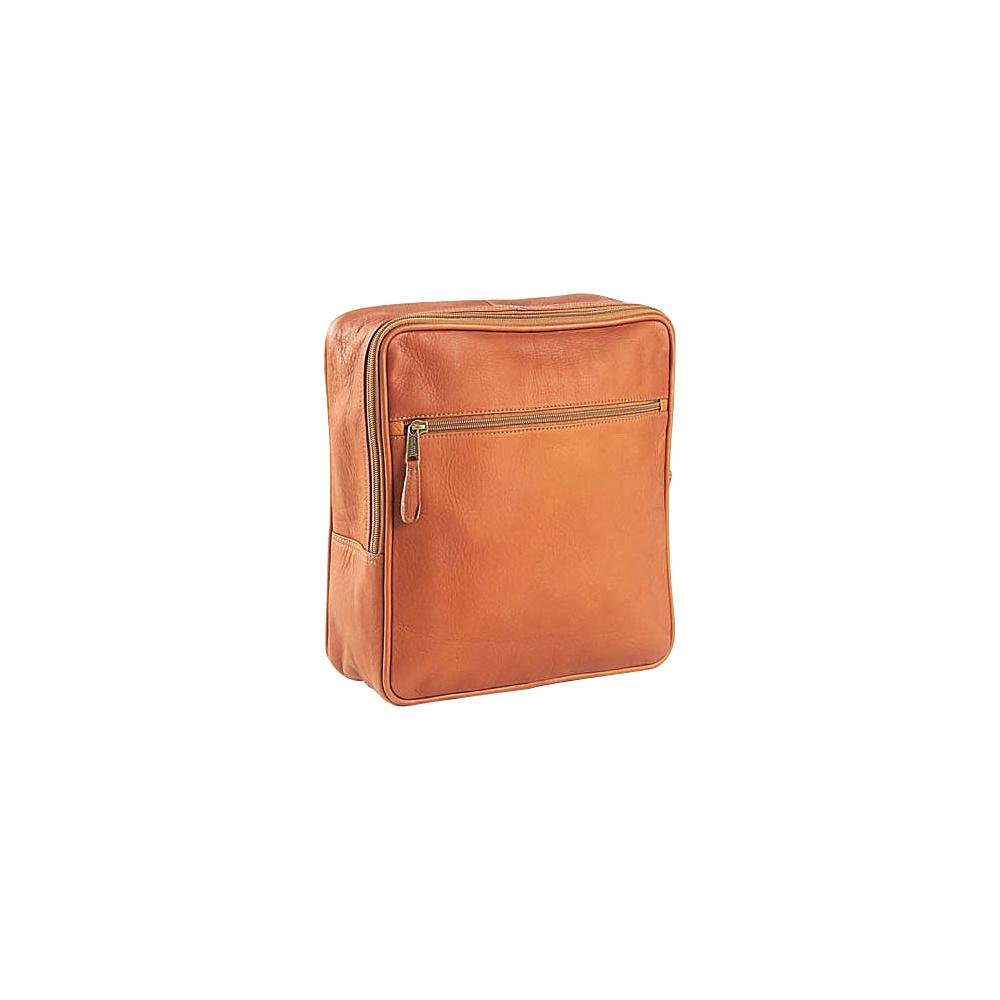 Clava Square Backpack - Vachetta Tan - Handbags, Leather Handbags