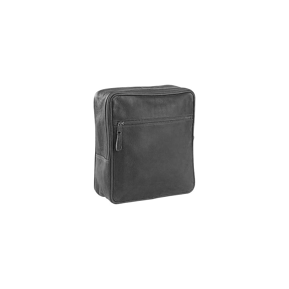 Clava Square Backpack - Vachetta Black - Handbags, Leather Handbags