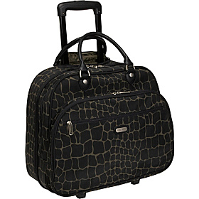 Rolling Tote Bagg 17'' Animal Prints Giraffe