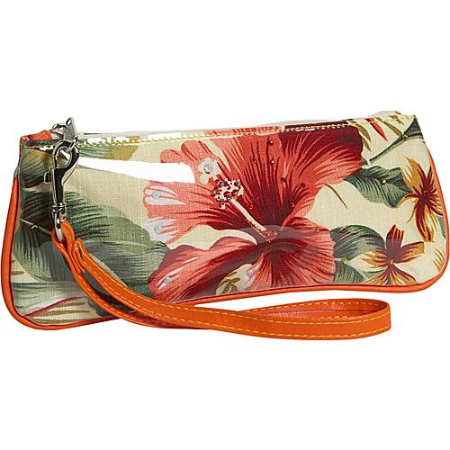M. Andonia Ivory Hawaiian Wristlet - Clutch
