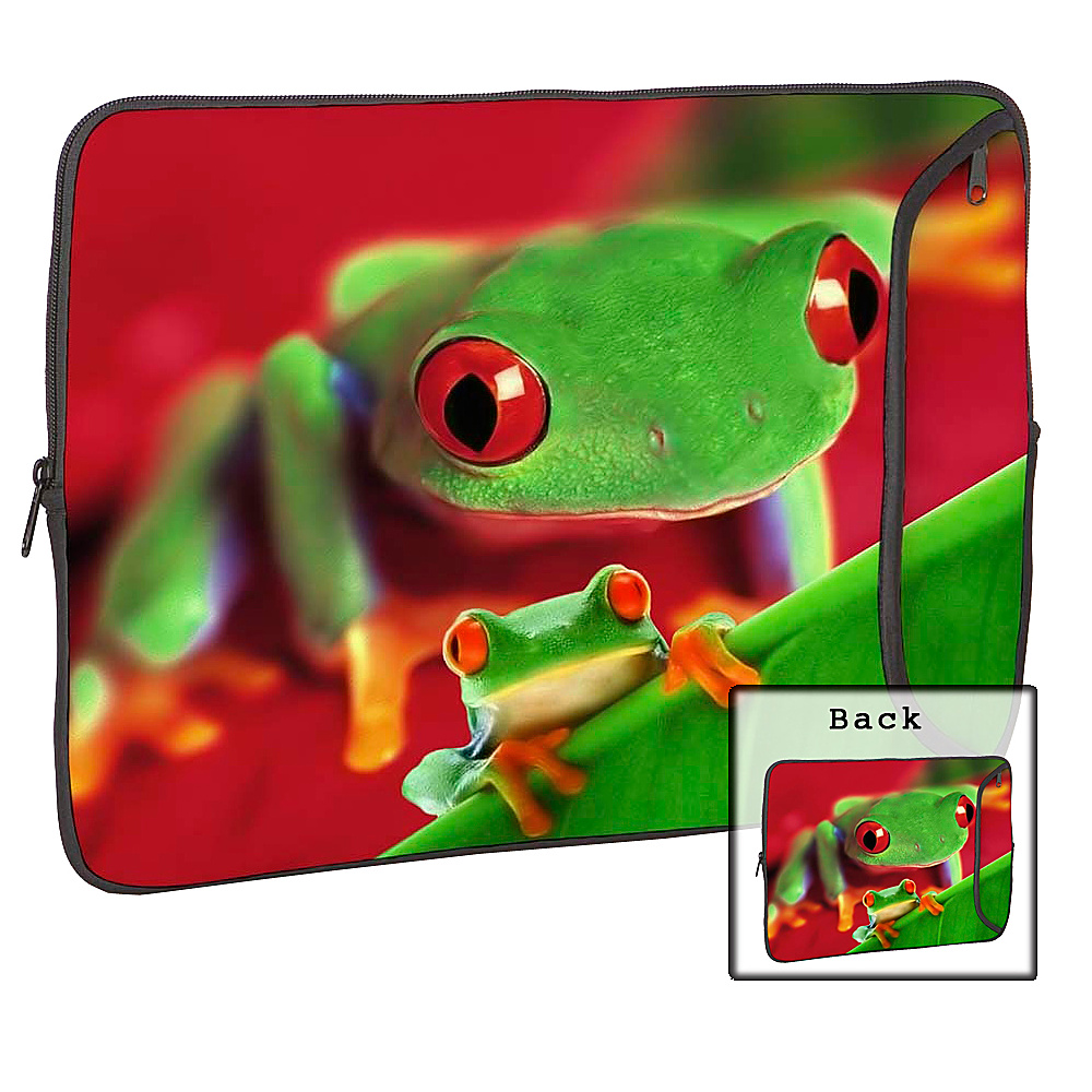 Designer Sleeves 14 Designer Laptop Sleeve Frog