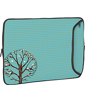 14'' Designer Laptop Sleeve Autumn Birds