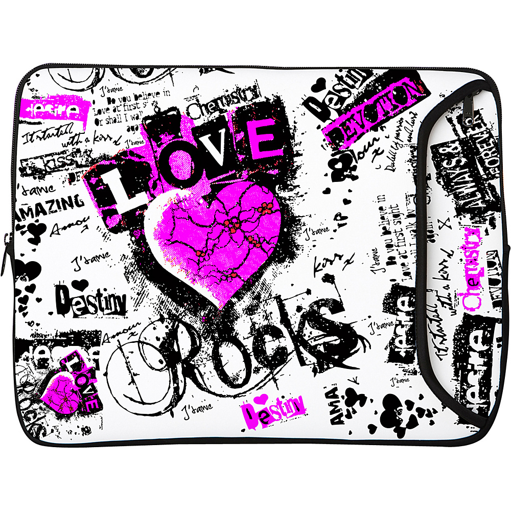Designer Sleeves 14 Designer Laptop Sleeve - Love - Technology, Electronic Cases