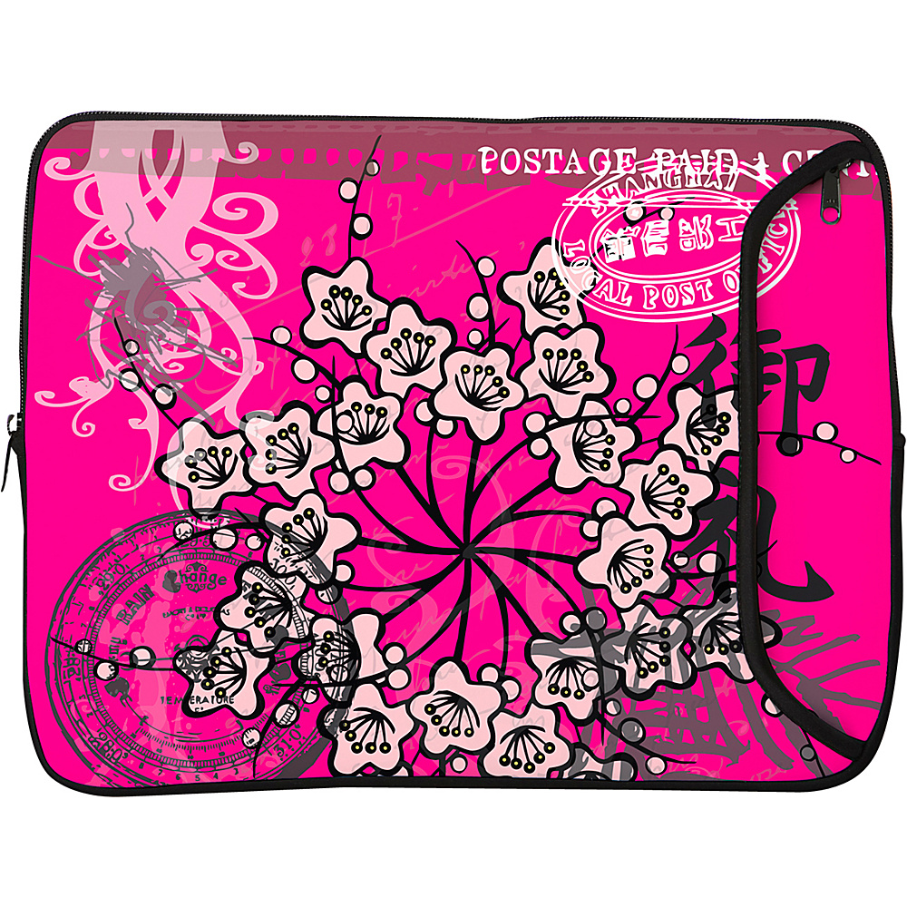 Designer Sleeves 14 Designer Laptop Sleeve - Pink - Technology, Electronic Cases