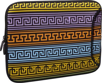 Designer Sleeves 14 inch Designer Laptop Sleeve Greek Patterns - Designer Sleeves Electronic Cases