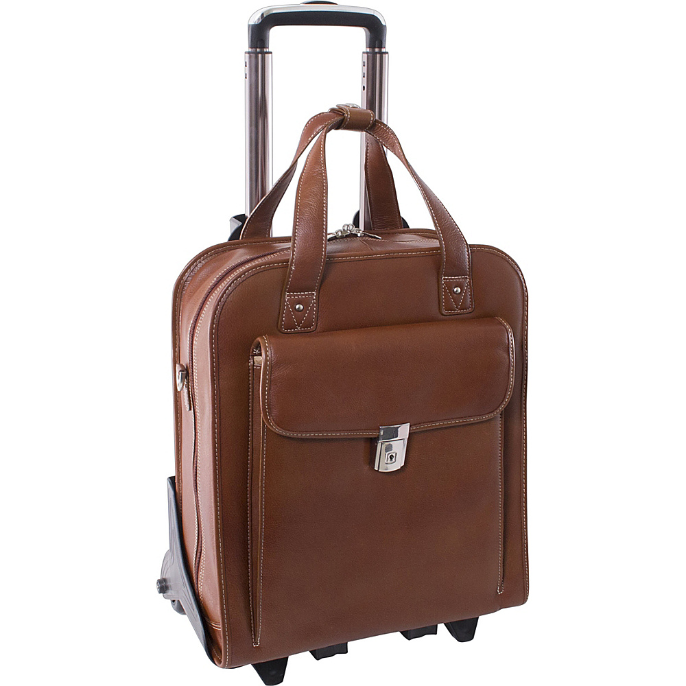 Siamod Vernazza Collection Pastenello Vertical Wheeled - Work Bags & Briefcases, Wheeled Business Cases