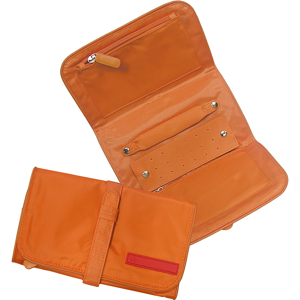 pb travel Travel Jewelry Roll Orange pb travel Travel Organizers