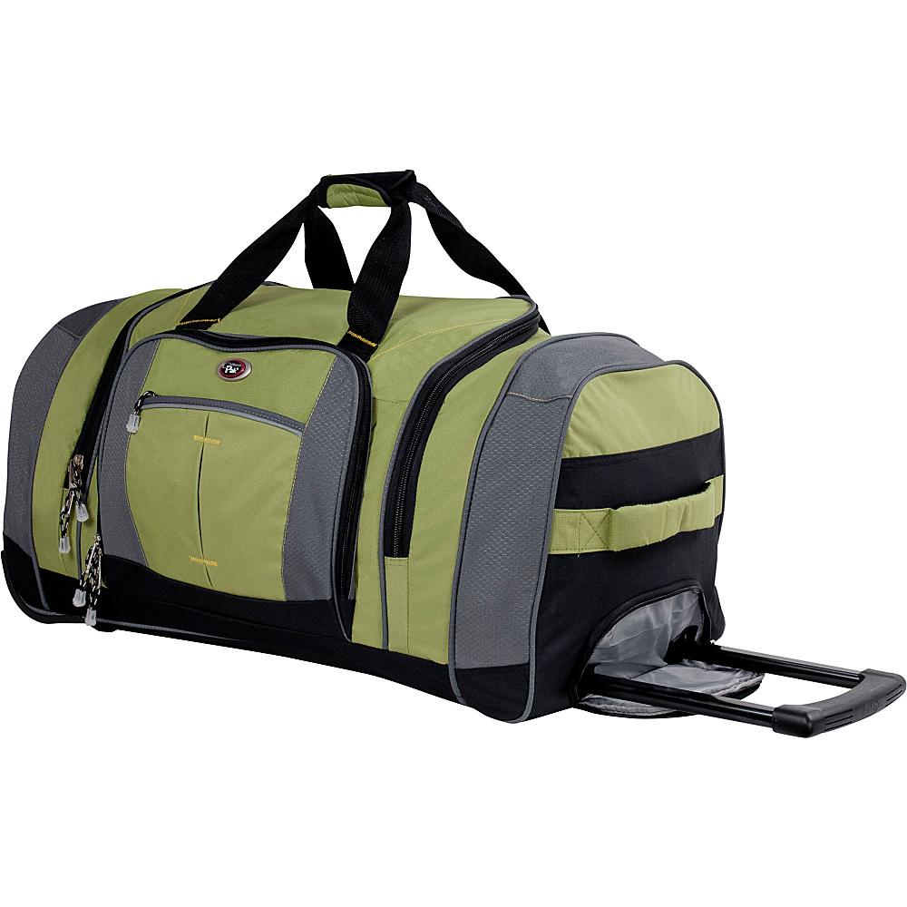 CalPak Silver Lake 31 Wheeled Duffel - Wasabi/Black - Luggage, Rolling Duffels