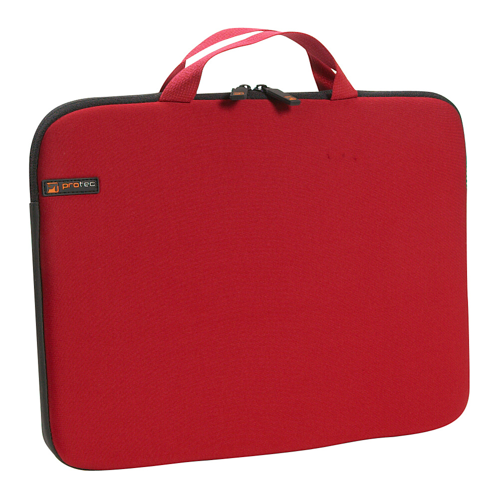 "Protec Neoprene Laptop Sleeve - 15"" - Red"
