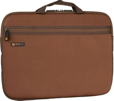 Protec Neoprene Laptop Sleeve - 15 inch - Chocolate