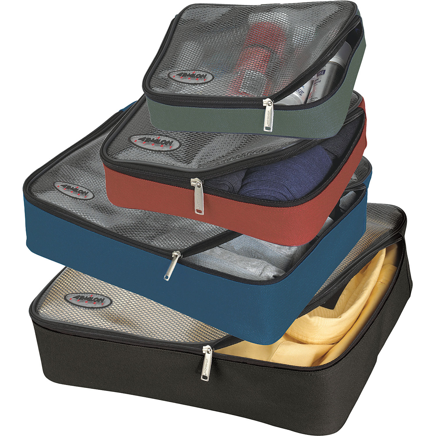 Athalon Packing Cubes - Set of 4 - eBags.com