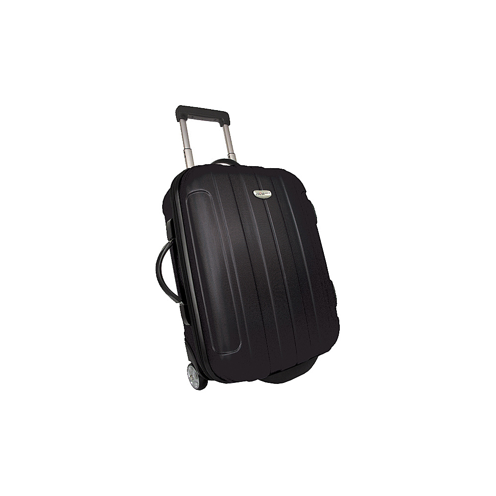 Traveler's Choice Rome 20 in. Hardside Rolling Carry-On Black - Traveler's Choice Hardside Carry-On