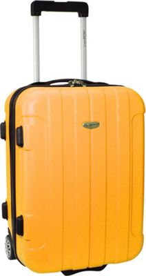 Traveler's Choice Rome 20 in. Hardside Rolling Carry-On Orange - Traveler's Choice Hardside Carry-On