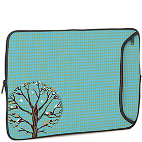 17'' Designer Laptop Sleeve Autumn Birds