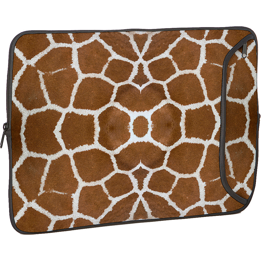Designer Sleeves 17 Designer Laptop Sleeve - Giraffe - Technology, Electronic Cases