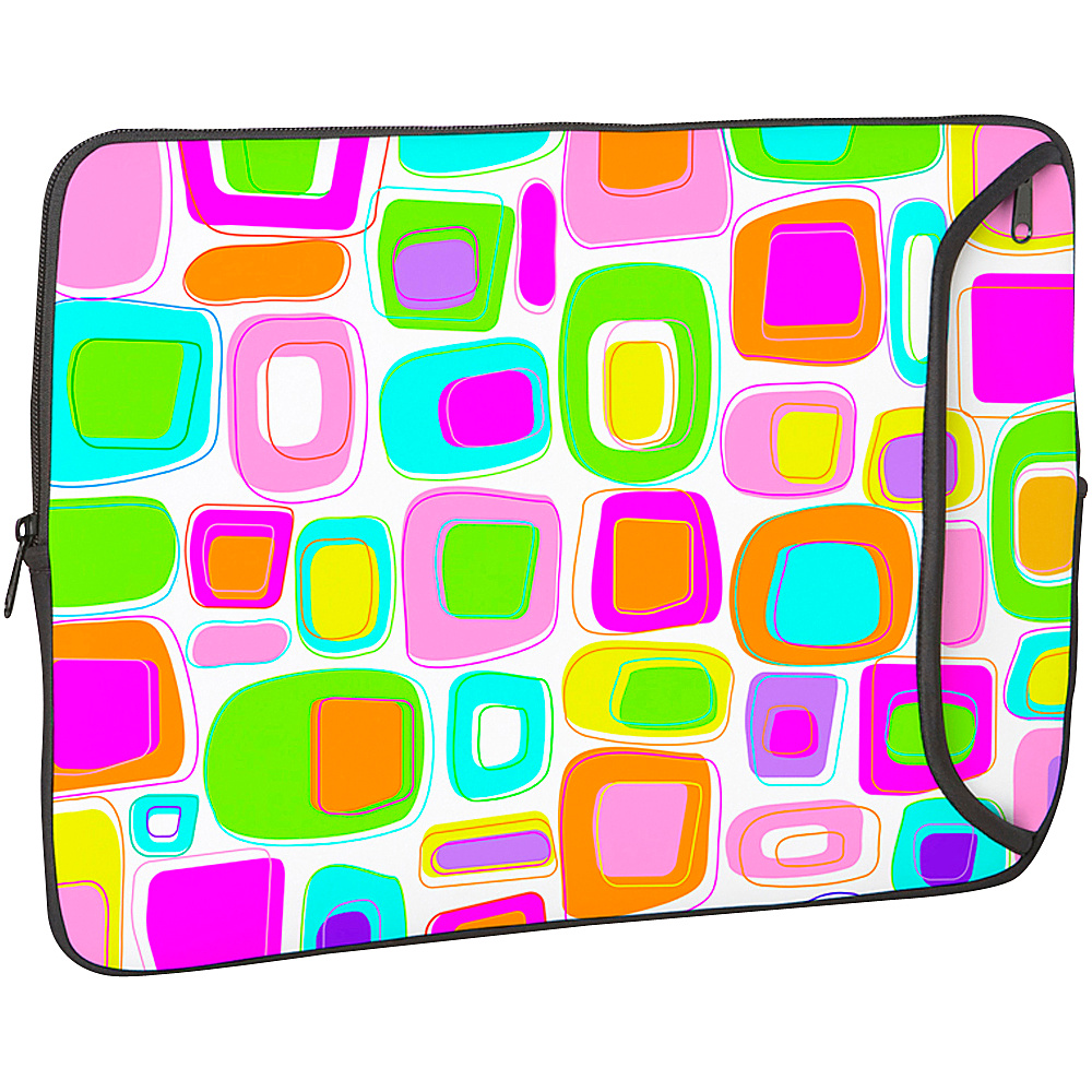 Designer Sleeves 17 Designer Laptop Sleeve - Pink - Technology, Electronic Cases
