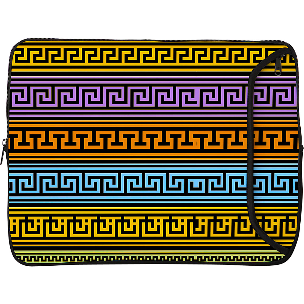 Designer Sleeves 17 Designer Laptop Sleeve Greek Patterns Designer Sleeves Electronic Cases